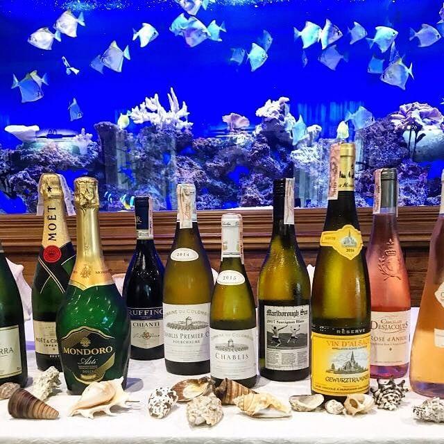Какие вина подают к рыбе и морепродуктам? (Часть 2)